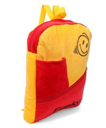 Funzoo Funky School Bag Red Yellow - 14.3 inch