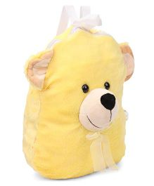Funzoo BOB Soft Toy Bag Bear Shape Yellow - 14.3 inch