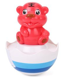 Smiles Creation Animal Roly Poly Toy - Red
