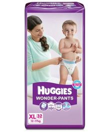 Huggies Wonder Pants Extra Large Size Pant Style Diapers - 32 Pieces