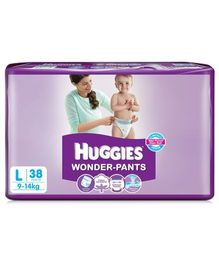 Huggies Wonder Pants Large Size Pant Style Diapers - 38 Pieces