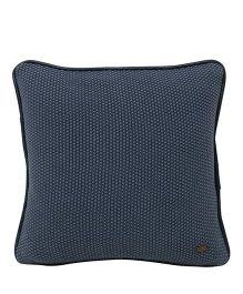 Pluchi Solid Square Quilted Cushion - Tea Grey