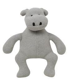 Pluchi  Hippo Design Toy - Grey