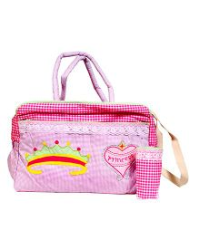 The Button Tree Princess Diary Diaper Bag - Pink