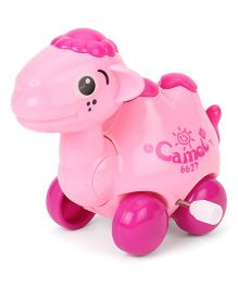 Sunny Wind Up Camel Toy - Pink