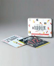 Pop Goes The Art Toddler Milestone Cards - Multicolour