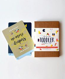 Pop Goes The Art Toddler Mini Milestone Cards - Multicolour