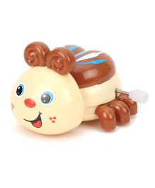 Sunny Wind Up Ladybug Toy - Cream Brown
