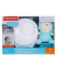 Fisher Price Butterfly Dreams Battery Operated 2 In 1 Soother And Projector