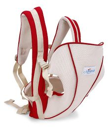 Baby Carrier 3 Way - Red & Cream