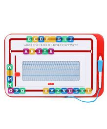 Fisher Price Learn To Write Board - Red White