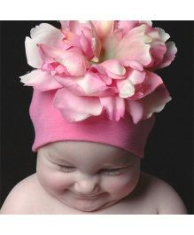 Princess Cart Giant Flower Cap - Pink