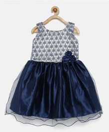 Winakki Kids Shimmer Work Dress - Blue