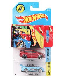 Hot Wheels Toy Car Pack Of 2 - (Color & Design May Vary)