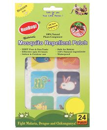 RunBugz Mosquito Repellent Patch Animal Design - Patch Of 24