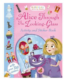 Alice Through The Looking Glass Activity And Sticker Book - English