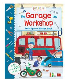My Garage and Workshop Activity And Sticker Book - English