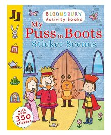My Puss In Boots Sticker Scenes - English