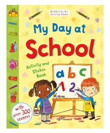 My Day At School Activity And Sticker Book - English