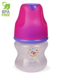 Fisher Price Regular Neck Designer Feeding Bottle Pink - 60 ml