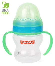 Fisher Price Feeding Bottle With Handle Green Blue - 150 ml