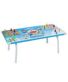 Doraemon Ludo Game Table - Multicolor