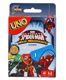 Marvel Spiderman UNO Cards - Multi Color