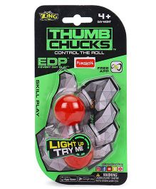 Funskool Thumb Chucks Toy - Red