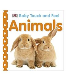 Animals Baby Touch And Feel Book - English