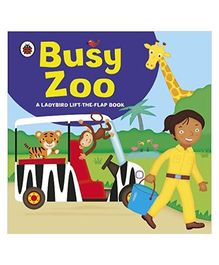 Lift the Flap Busy Zoo Board Book - English