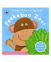 Peekaboo Zoo Rhyming Book - English