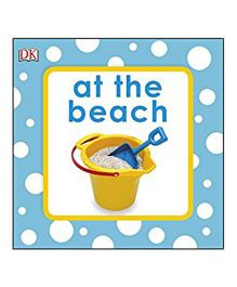 At The Beach Bath Book - English