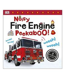 Noisy Fire Engine Peekaboo - English