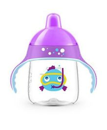 Avent Premium Spout Cup 260ml - Purple