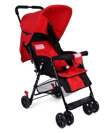 Morisons Baby Dreams Active Baby Stroller - Red