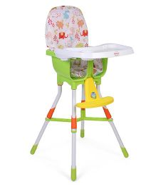 Morisons Baby Dreams Baby High Chair - Green & Multicolor