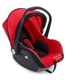 Morisons Baby Dreams Car Seat Cum Carry Cot - Red