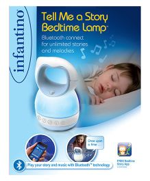 Infantino Tell Me A Story Bedtime Lamp - Blue