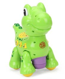 Imagician Playthings Kids Villa Double Fun Playmate Froggy Musical Toy - Green