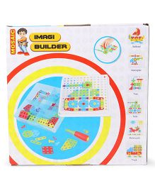 Imagician Playthings Imagi Builder Mosaic Blocks IB 101 Automobile Design - 96 pieces