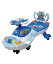 Funride Galaxy Twister Magic Car With Backrest - Blue