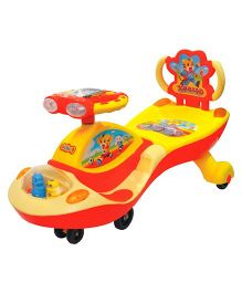 Funride Galaxy Twister Magic Car With Backrest- Red