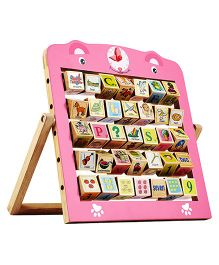 Creative Learning Wooden Alphabet Abacus
