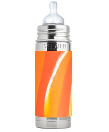 Pura Kiki Insulated Infant Bottle Orange - 260 ml