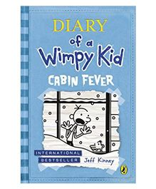 Diary Of Wimpy Kid Cabin Fever By Jeff Kinney Story Book - English