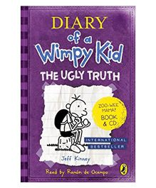 Diary Of Wimpy Kid The Ugly Truth Story Book With CD By Jeff Kinney - English