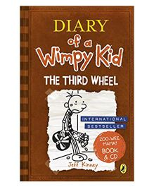 Diary Of Wimpy Kid The Third Wheel Story Book With CD By Jeff Kinney - English
