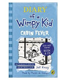 Diary Of Wimpy Kid Cabin Fever Story Book With CD By Jeff Kinney - English