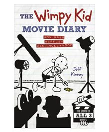 Wimpy Kid Movie Diary How Greg Heffley Went Hollywood Dog Days Story Book - English