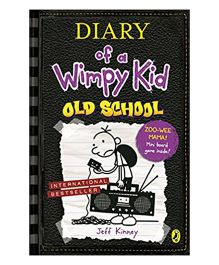 Diary Of A Wimpy Kid Old School Story Book By Jeff Kinney - English